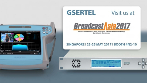 Gsertel will exhibit its latest developments at the Broadcast Asia show