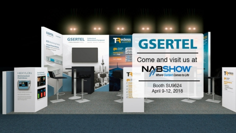Gsertel's presence at the latest NAB show 2018