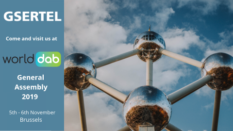 Come and visit us at WorldDAB General Assembly 2019