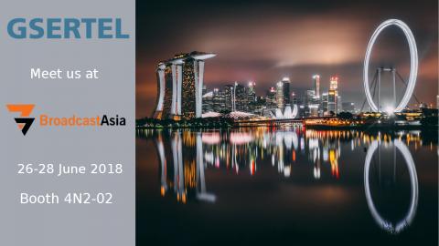 Meet us at Singapore and find out what´s behind the success of Gsertel