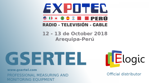 Gsertel will showcase its measuring technology to peruvian broadcasters at EXPOTEC