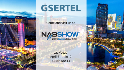 Visit Gsertel in Las Vegas. From 8th to 11th April 2019